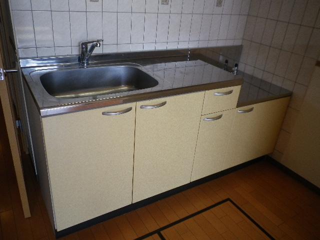 ルネス ドゥ エクスアン プロヴァンス 303号室のキッチン