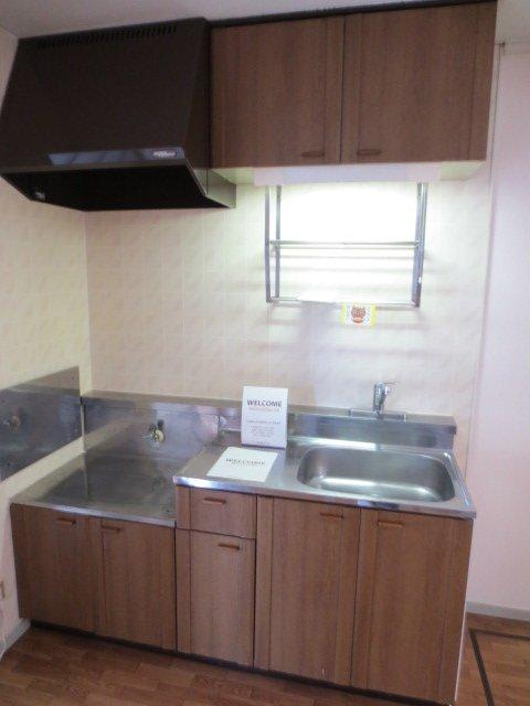 グリーンヒル新宿 202号室のキッチン
