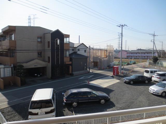 グリーンヒル新宿 202号室の景色