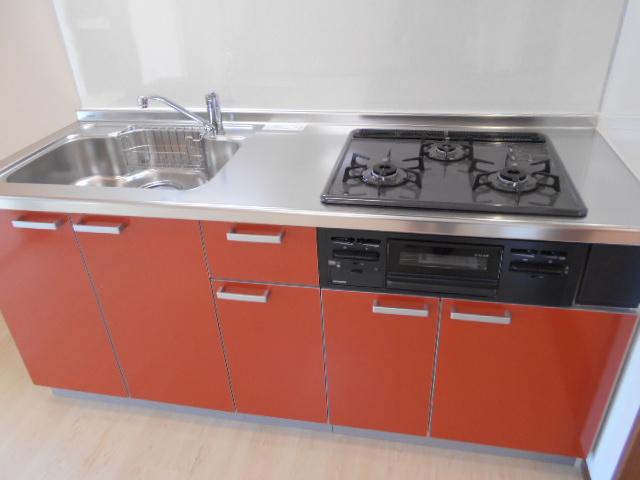 フラワーコーポ 202号室のキッチン