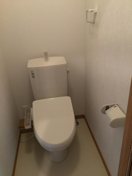 ブループラネット 201号室のトイレ