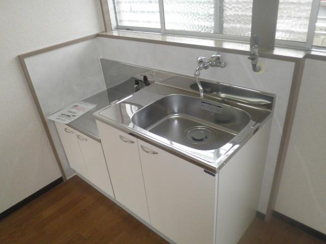 辻サンハイツ 203号室のキッチン