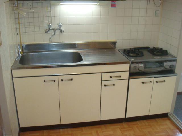 ハイツ前島 203号室のキッチン