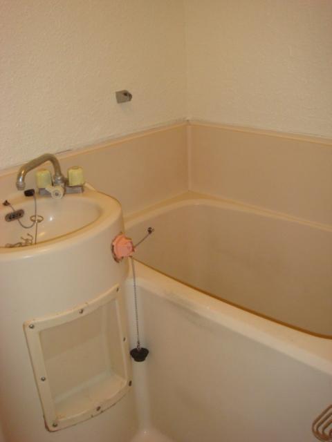 ハイツ前島 203号室の風呂