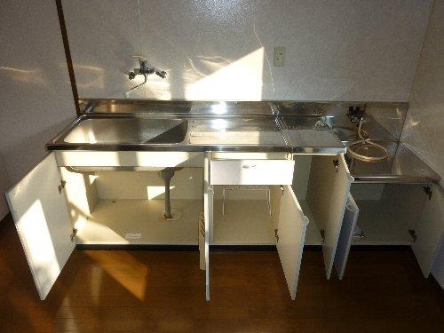 ハイツパルム 104号室のキッチン