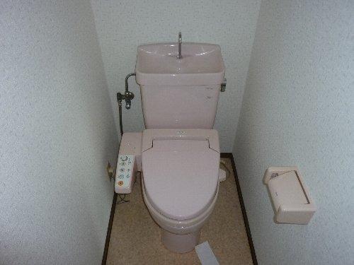 ハイツパルム 104号室のトイレ