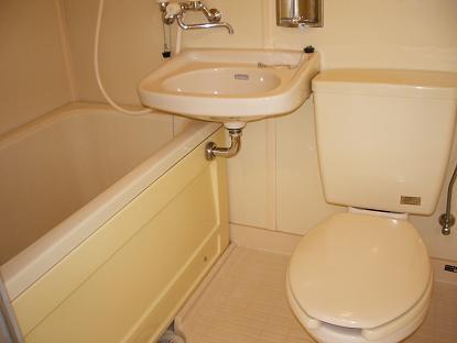 コーポさつき1 102号室の風呂