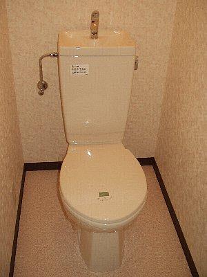 ヴィヴァーチェ若林 302号室のトイレ
