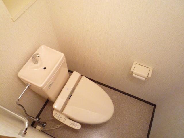 ホリホックイン八幡 307号室のトイレ