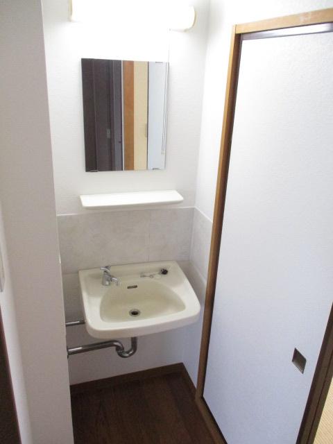 シティハイムレインボーⅡ 222号室の洗面所