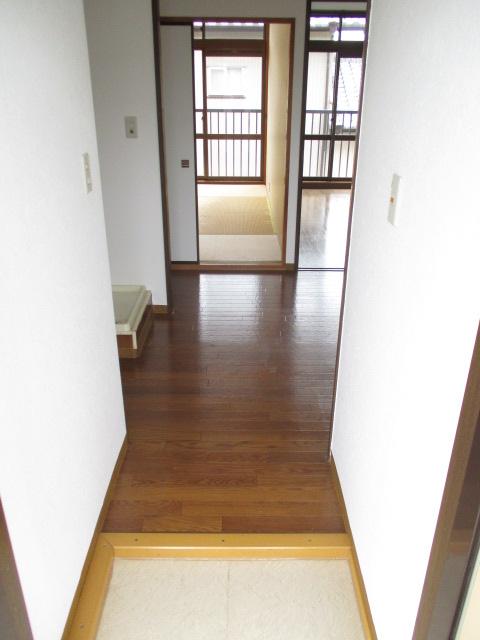 シティハイムレインボーⅡ 222号室の玄関