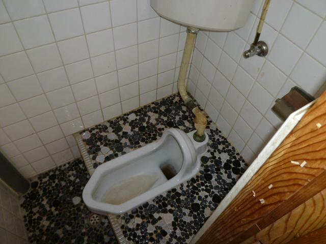 第一荒中荘 2D号室のトイレ
