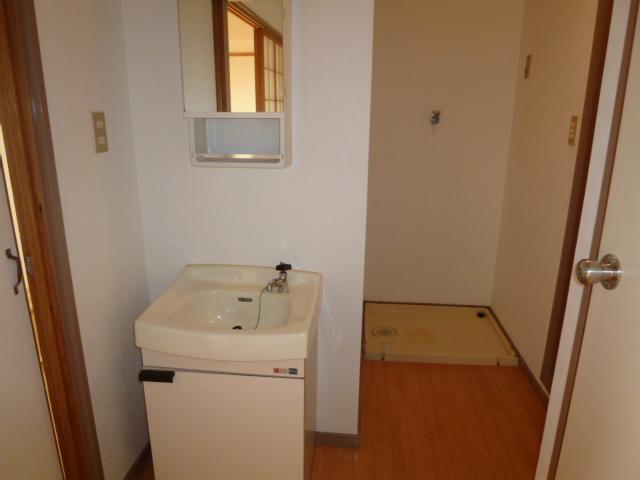 荒中マンション 403号室の洗面所
