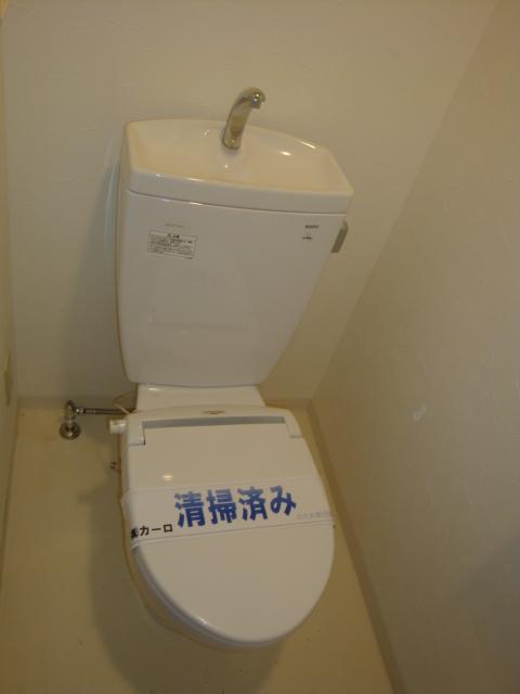 Vg.Tree 1G号室のトイレ