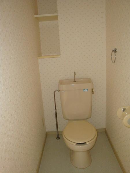 第2高杉マンション 103号室のトイレ
