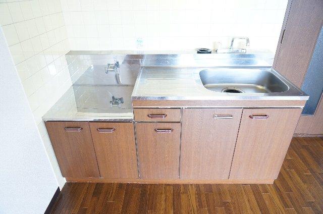 篠原橋マンション 6A号室のキッチン