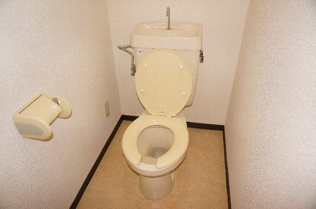 篠原橋マンション 6A号室のトイレ