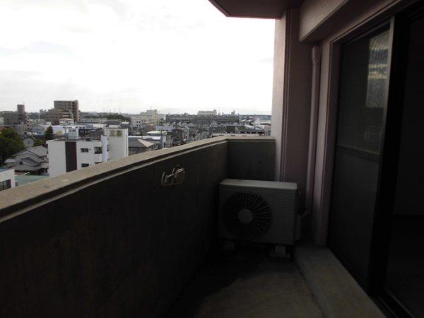 セジューネトーシ 4A号室のバルコニー