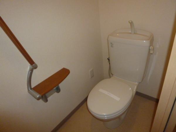 クリエイトハウス荒子 401号室のトイレ