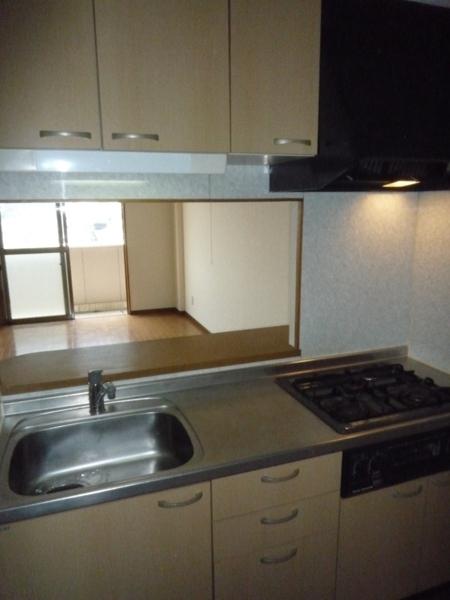 グランドヒルズ昭明町 401号室のキッチン