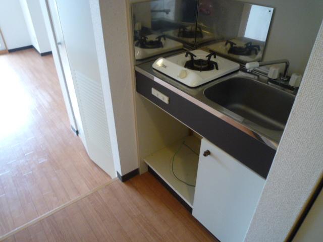 レーヴェ K&M 4C号室のキッチン