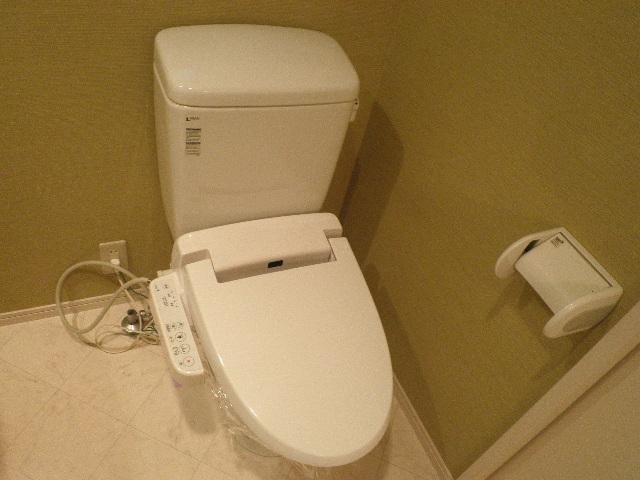 Olive 105号室のトイレ
