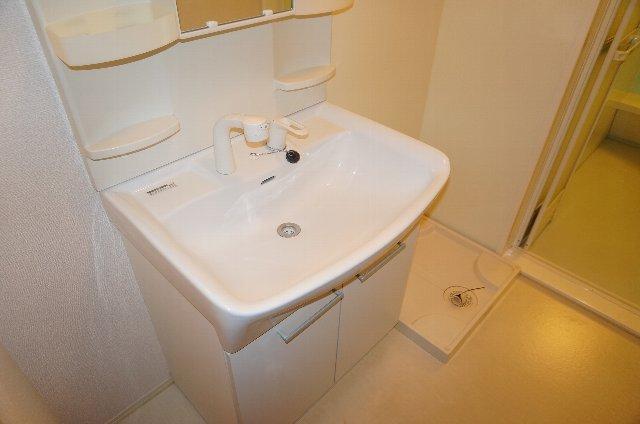 グランディールJ 102号室の洗面所