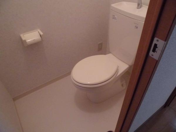 La Zona rosa 106号室のトイレ
