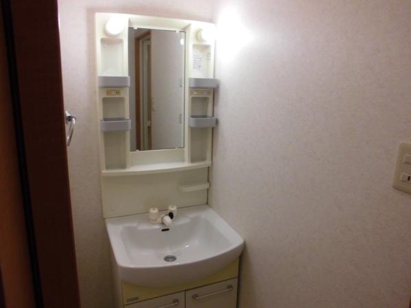 La Zona rosa 106号室の洗面所