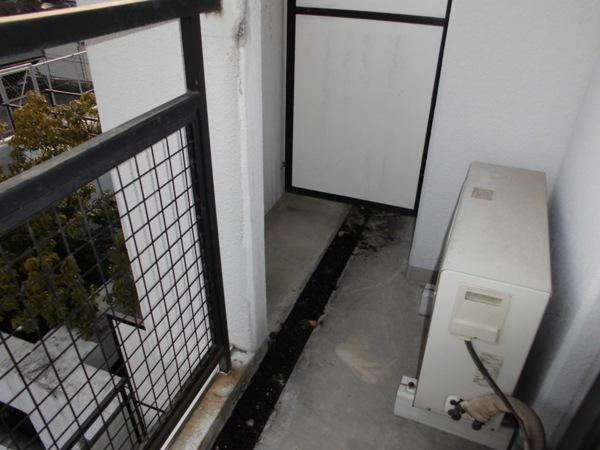 イヌカイビル 503号室のバルコニー