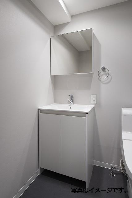 クレア露橋 102号室の洗面所