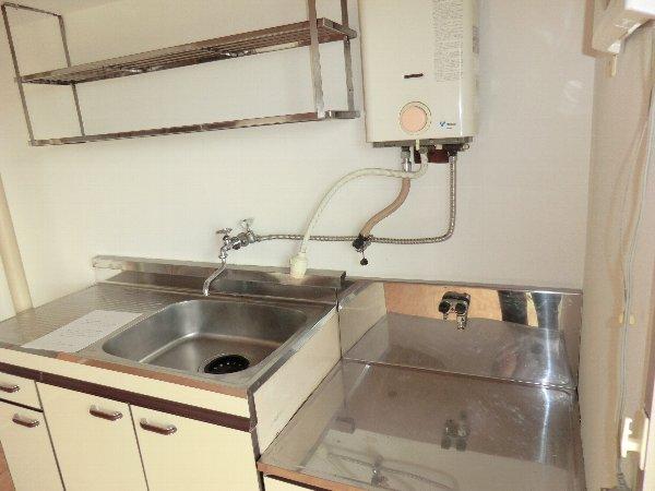 柏原農住団地F棟 305号室のキッチン