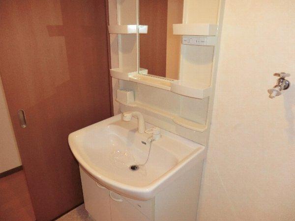 プリミエール JYOJYO 601号室の洗面所