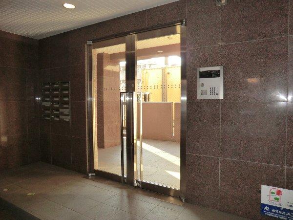 プリミエール JYOJYO 601号室のエントランス