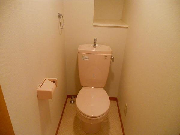 プリミエール八田Ⅱ 302号室のトイレ