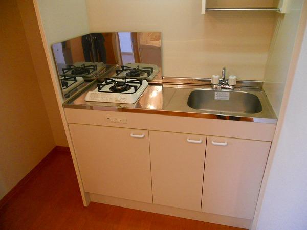 プリミエール八田Ⅱ 302号室のキッチン
