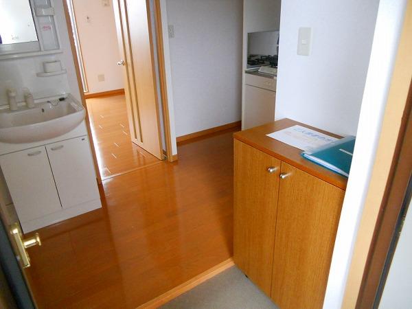 プリミエール八田Ⅱ 302号室の玄関