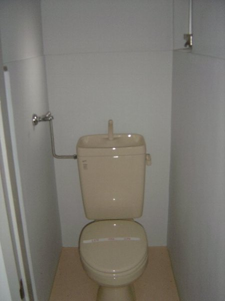 柏原農住団地S棟 2D号室のトイレ