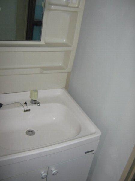 柏原農住団地S棟 2D号室の洗面所