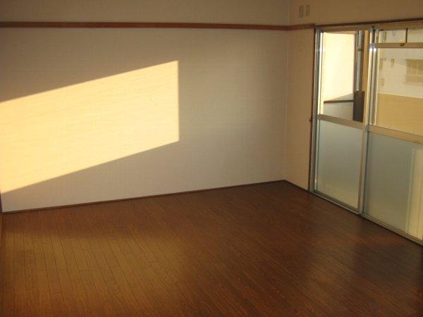 松山コーポ 206号室のベッドルーム