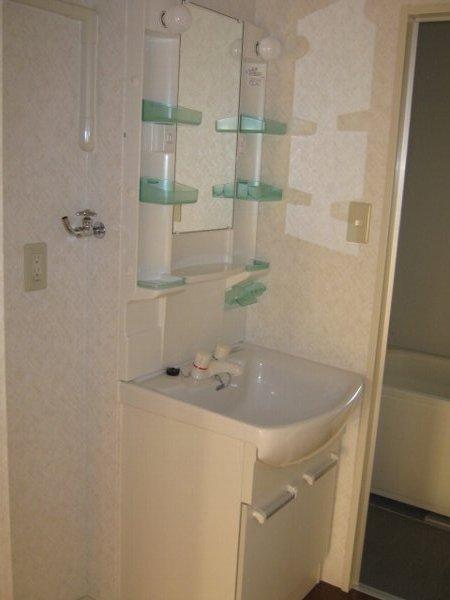 松山コーポ 206号室の洗面所