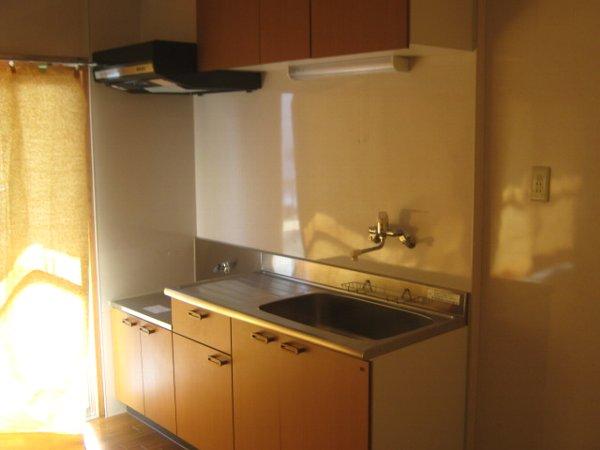 松山コーポ 206号室のキッチン