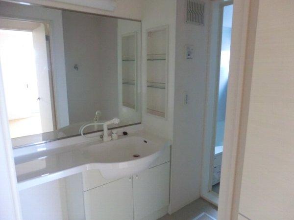 ル・クプル A棟・B棟 B201号室の洗面所