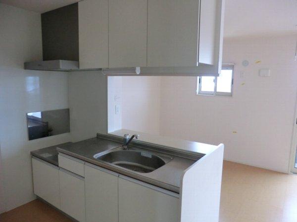ル・クプル A棟・B棟 B201号室のキッチン