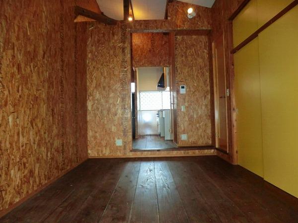 コーポ大島 2A号室のベッドルーム