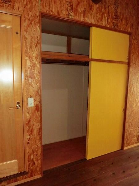 コーポ大島 2A号室の収納
