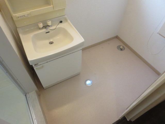 第2サンハイツ戸崎 205号室の洗面所