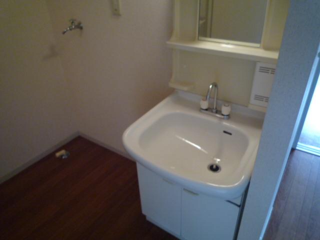 リバーサイド高田A 103号室の洗面所