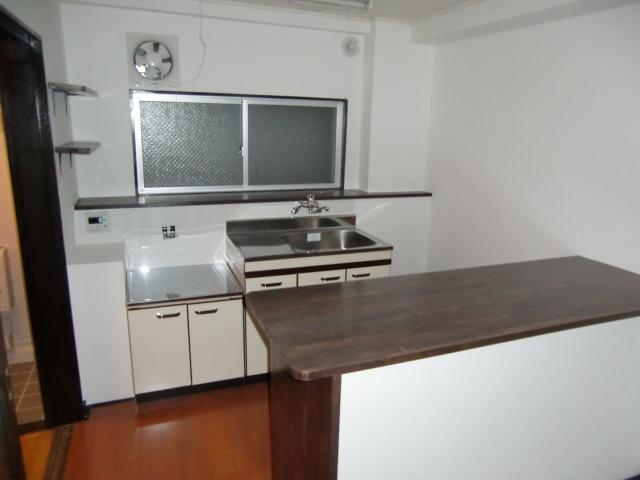 羽田マンション 514号室のキッチン