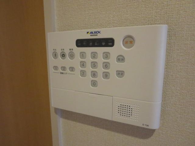 メゾンプラネット 202号室のセキュリティ